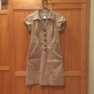 Cute Khaki Dress - Work or Play